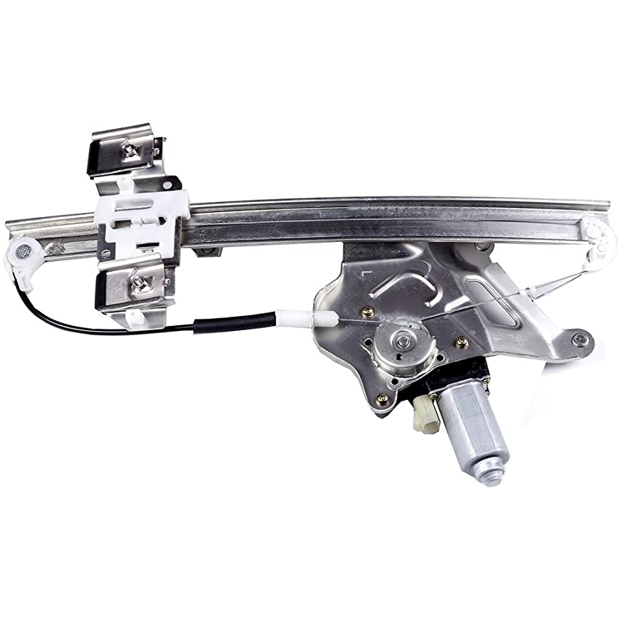 cciyu Front Left Drivers Side Power Window Lift Regulator with Motor Assembly Replacement Replacement fit for 2000-2005 Buick LeSabre