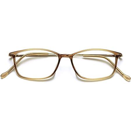 PINT GLASSES シニアグラス (老眼鏡1本で度数:+0.60D ~ +2.50Dの累進設計) スタイリッシュなスクエアタイプ