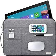 Audirex Water Drop Proof Laptop Tablet Sleeve Handbag for 12 - 13.3 Inch MacBook Air | MacBook Pro Retina 2012 - 2019 | 12.9 Inch iPad Pro | Surface Pro 6 5 4 | New Surface Pro (Grey)