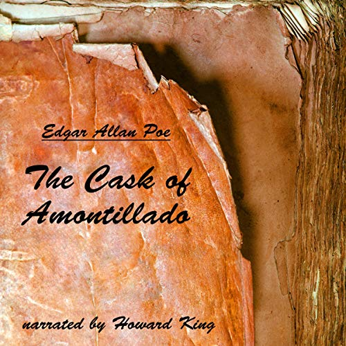 The Cask of Amontillado audiobook cover art