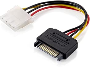 Equip 112058 Cable de alimentación Interna 0,15 m - Cables de alimentación Interna (0,15 m, 4-Pin Molex, SATA de 15 Pines, Female Connector/Female Connector, Derecho, Derecho)