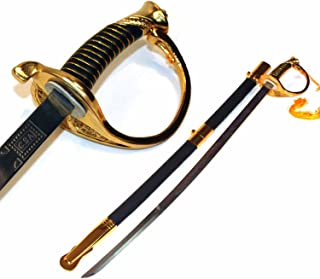 Etrading CSA Cavalry Confederate Saber Civil War Officer Sword Replica Costume