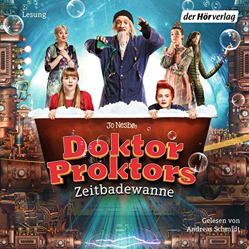 Couverture de Doktor Proktors Zeitbadewanne