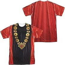 Star Trek:Next Generation- Q Judge Costume Tee (Front/Back) T-Shirt