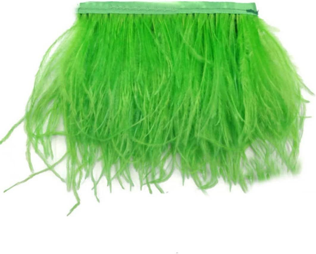 CENFRY Pack Louisville-Jefferson County Mall of 10yards Ostrich Sewin Special price Trims Dress Feathers Fringe