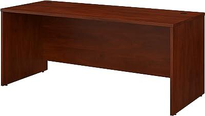 Bush Business Furniture Studio C Office Desk, 72W x 30D, Hansen Cherry