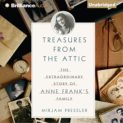 Treasures from the Attic audiobook cover art