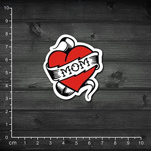 YOUKU Folleto Etiqueta engomada del Cuaderno de la mamá del Estilo del Tatuaje Etiqueta engomada del monopatín Etiqueta de la Maleta Etiqueta engomada de la Barra