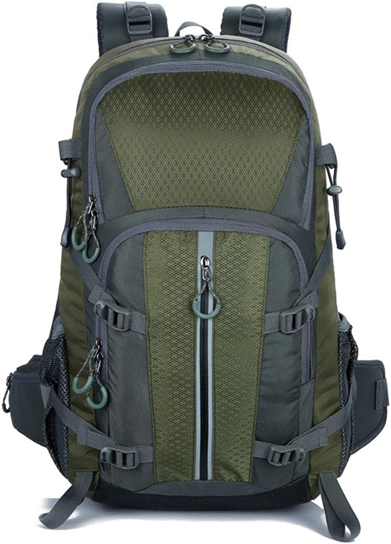 35L Outdoor Sports Backpack Waterweight Leichtbau-Multi-Funktion Hiking Daykpack Wear-Resistant Travel Packs,MilitaryGrün,55  32  20cm B07P2FXF98  Jugend überschwemmen