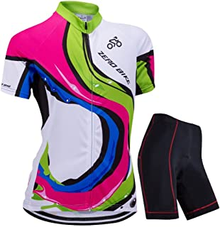 Women's Short Sleeve Cycling Jersey Jacket Cycling Shirt Quick Dry Breathable Mountain Clothing Bike Top