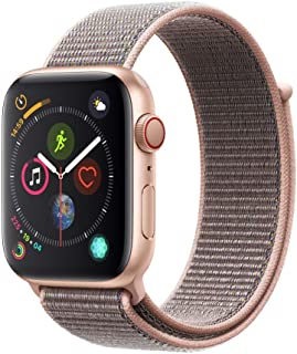 AppleWatch Series4 (GPS+Cellular, 44mm) - Gold Aluminum Case with Pink Sand Sport Loop