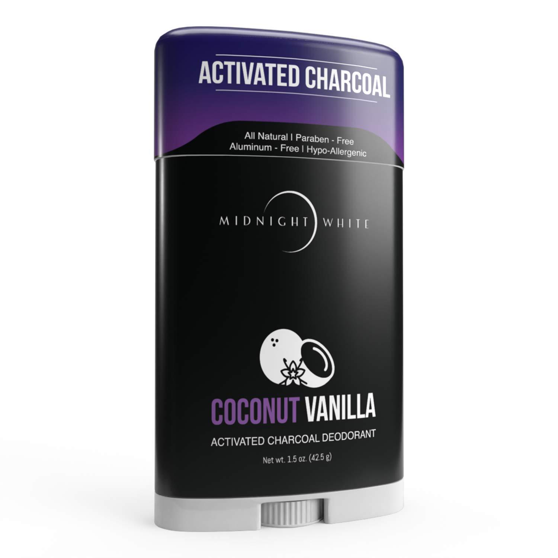 Natural Aluminum-Free Deodorant Stick. Coconut Max 48% OFF - 24 F Vanilla Finally resale start hr