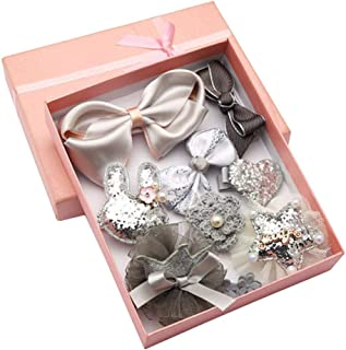 Hair Accessories Baby Little Girls Hair Clips Bows Barrettes Hairpins Set