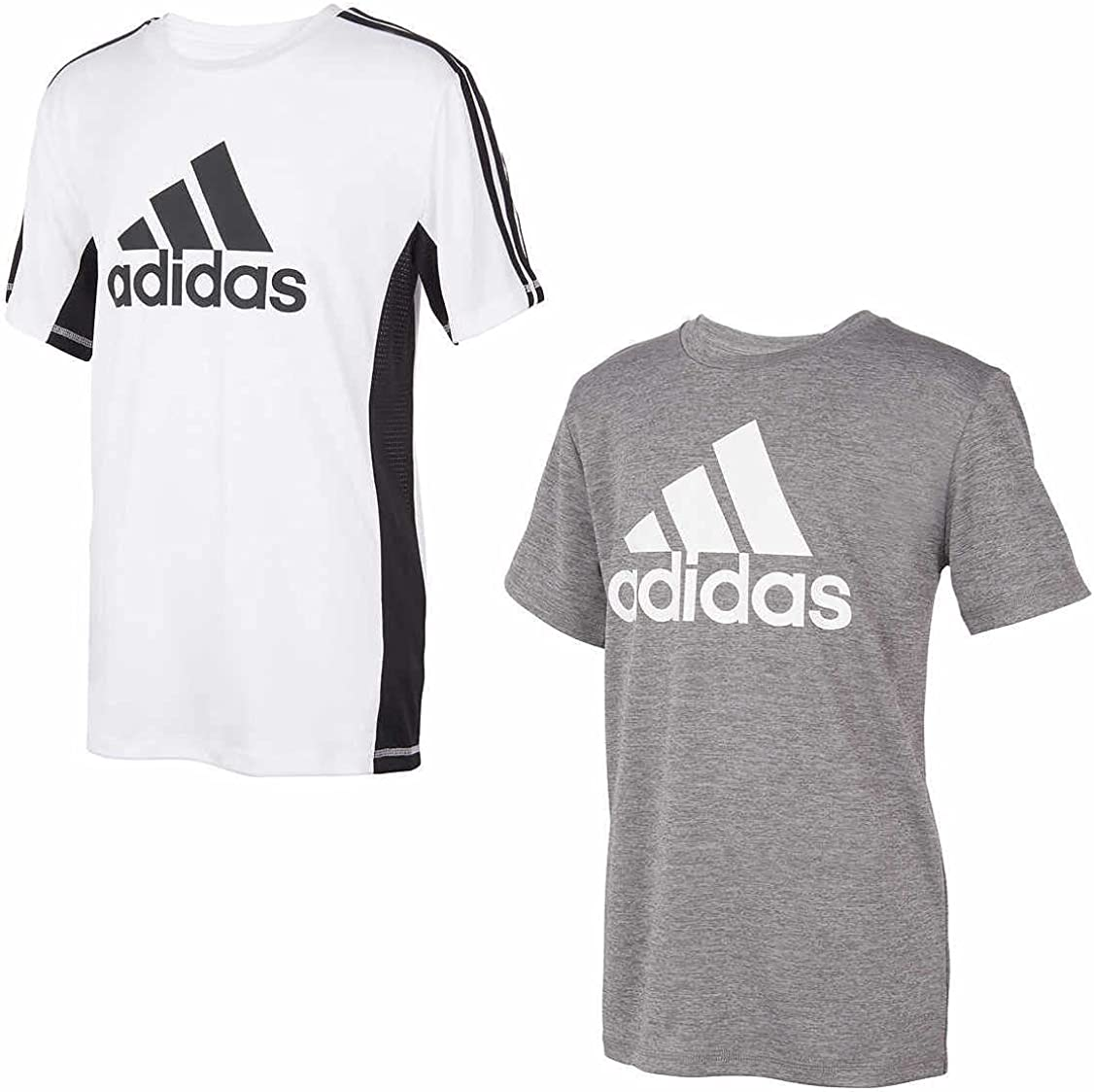 adidas Youth Boy's 2 Pack Performance Tees