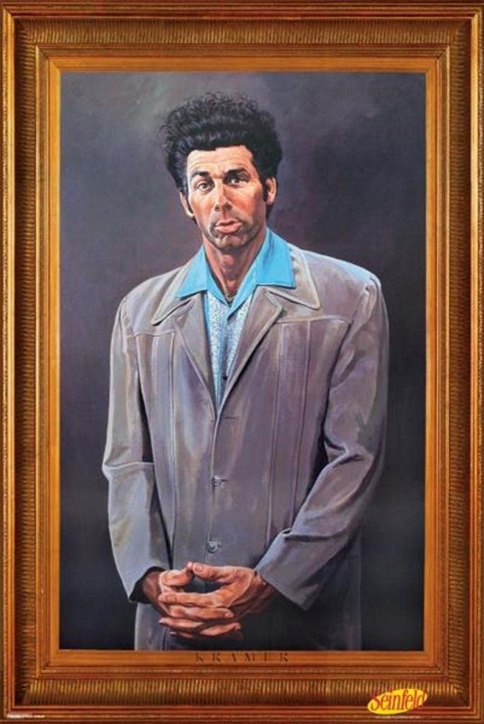 Pyramid America The Kramer Portrait Seinfeld Frame 70% OFF Max 64% OFF Outlet TV Faux Cool