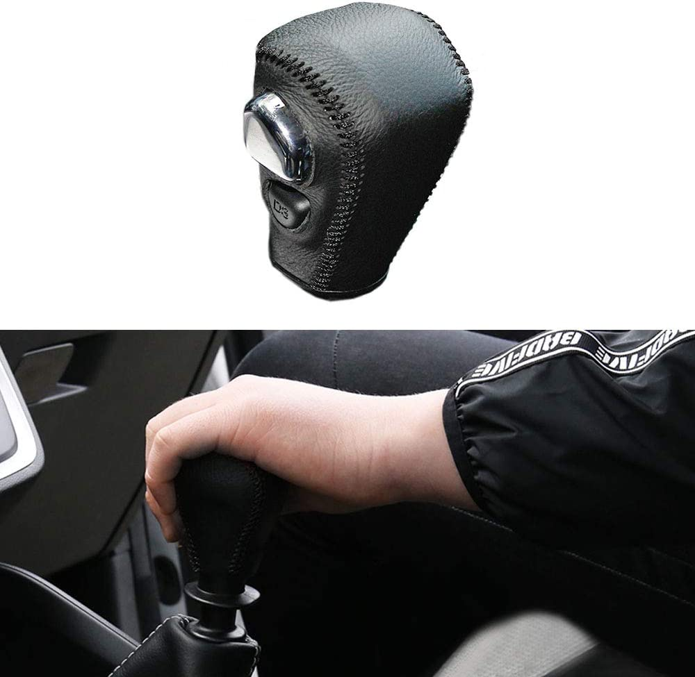SureMart for at Honda CRV 08-14 Leather Car Gear Shift Lever Cover ...