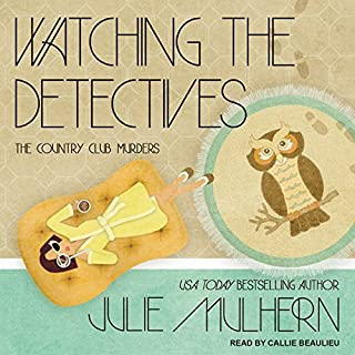 Watching the Detectives audiobook cover art