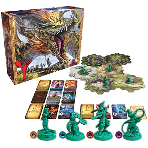 GreenBrier Games Yashima Legend of The Kami Masters Board Game