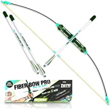 Demilong Bow and Arrow for Kids, Great for Outdoor Exercise Play with Friends and Family, Archery Toy Set with 3 Foam Arrows, Safy Outdoor Toys for Children and Adults