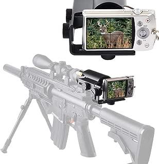 SOLOMARK Scope Camera Mount for Rifle Scope Gun Scope Airgun Scope-for Compact Camera Casio Sony Canon Nikon Fujifilm