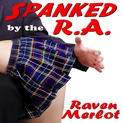 Spanked by the RA audiobook cover art