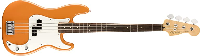 Squier by Fender Player Precision Bass - Pau Ferro - Capri Orange