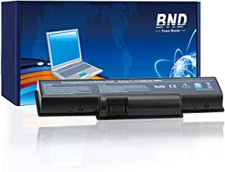 BND Laptop Battery for Gateway NV52 / Acer Aspire 5334 5517 5532 5734Z eMachines E525 E627 E725, fits P/N AS09A61 AS09A41 AS09A31 AS09A56 AS09A71 AS09A73 [6-Cell 5200mAh/58Wh]