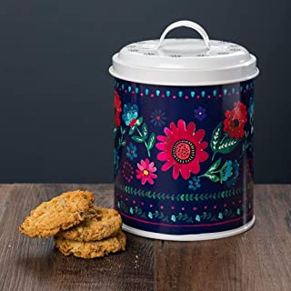 English Tableware Company Sabina Flower - Tarro de almacenamiento para galletas, diseño de flores