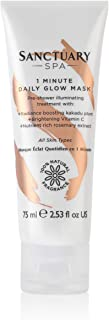Sanctuary Spa Face Mask, 1 Minute Daily Glow Vitamin C Face
