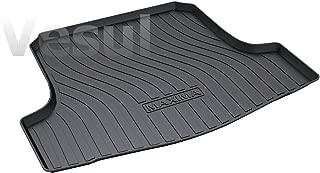 Vesul Rubber Rear Trunk Cover Cargo Liner Trunk Tray Floor Mat Carpet Fits on Nissan Maxima 2016 2017 2018 2019 2020