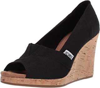 TOMS Women's Classic Espadrille Wedge Sandal