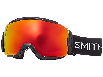 Smith Optics Vice Goggle (Black/Chromapop Everyday Red Mirror) Goggles