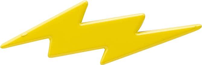 AN KINGPiiN Lapel Pin for Men Yellow Lightening Flash Brooch Suit Stud, Shirt Studs Men's Accessories Ename