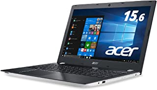 Acer ノートパソコン Aspire E 15 E5-576-N78G/W (Core i7/8GB/1TB HDD/DVDドライブ/15.6型/Windows 10 Home/ホワイト)