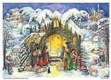 Advent Calendar Motiv - At The Crib