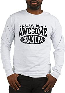 World's Most Awesome Grandpa Long Sleeve T