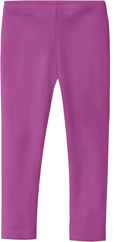 Organic Girls Leggings Made in USA - 100% Super Soft Cotton -School Play Parties Fashion