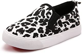 UBELLA Toddler Kids Canvas Sneakers Boy's Girl's Casual Slip-on Shoes Loafer Flats