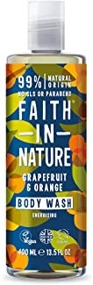 Faith In Nature Duschgel Grapefrukt och Orange-400 ml