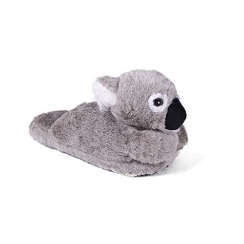 36d80942451 50+ Styles - Premium Full Foot Happy Feet Mens and Womens Animal Slippers