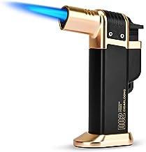 CIGARLOONG Cigar Lighter Jet Flame Butane Torch Lighter Gas Butane Lighter Used for BBQ Camping