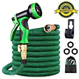Best Expandable Garden Hoses - KURTVANA Expandable Garden Hose,Leakproof Lightweight No-Kink Water Hose Review