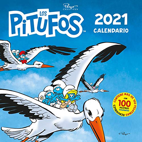 Calendario Los Pitufos 2021: 39 (Base Kids)
