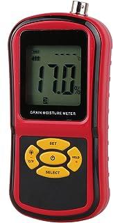 Damp meter الرقمية LCD الحبوب الرطوبة متر GM640 مع قياس التحقيق اختبار الذرة القمح الأرز الفول الرطوبة أداة الرطوبة