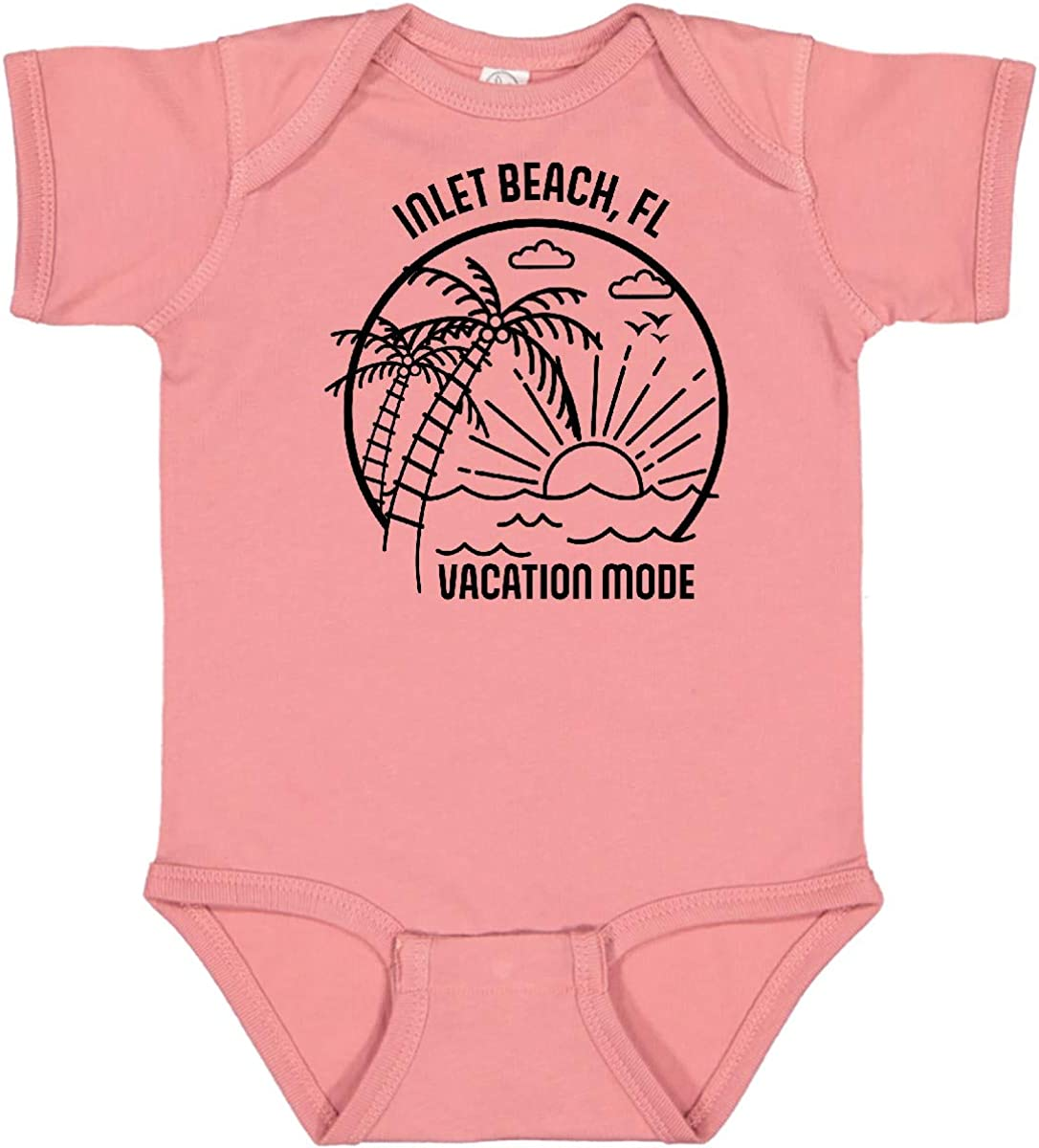 inktastic Summer Vacation Mode Inlet Creepe Infant Florida Gorgeous Beach Ranking TOP11