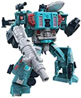 Transformers TRA GEN WFC E LEADER DOUBLE DEALER Action Figure, Blue/Grey, 7 inch