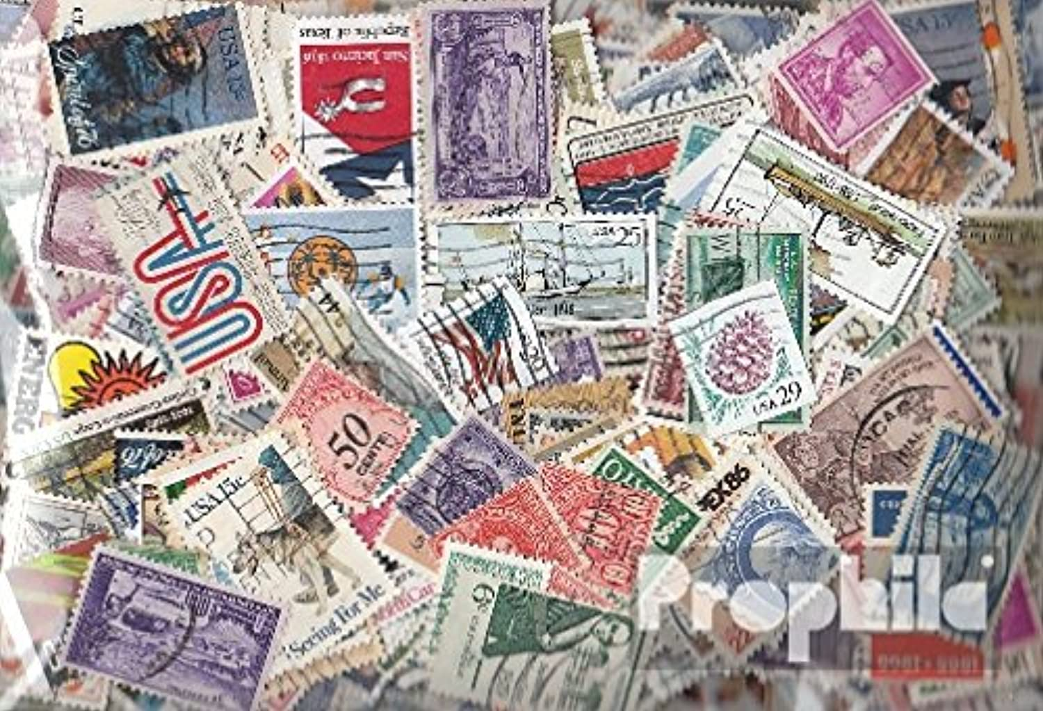 U.S. 1.000 different stamps (Stamps for collectors)