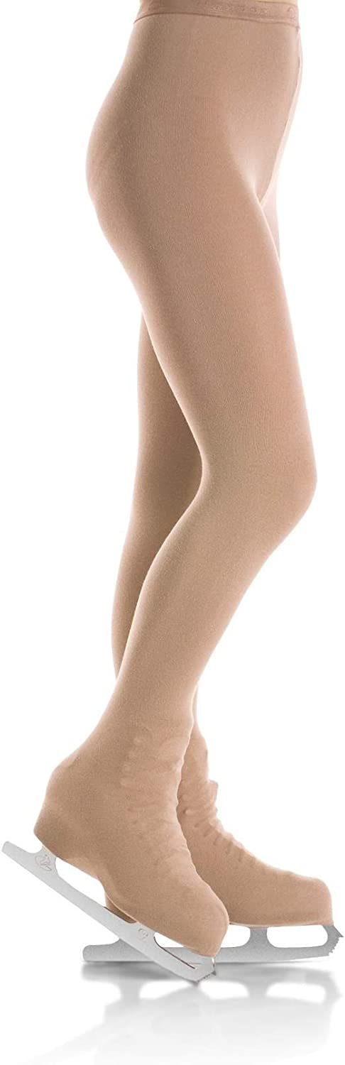 Mondor 3396 Over The Boot Figure Skating Tights (Girls)
