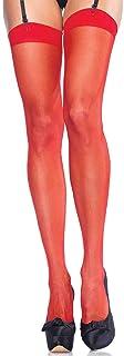 Leg Avenue Womens Sheer Stockings