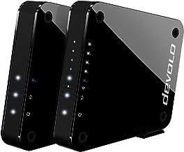 Devolo GigaGate - Puente Wi-Fi (2 Gbit/s, 1 x Puerto Gigabit, 4 x Puertos Ethernet, conexión Punto a Punto a través de una...